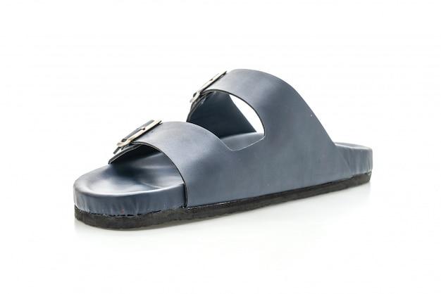 Mannen leren sandalen Premium Foto