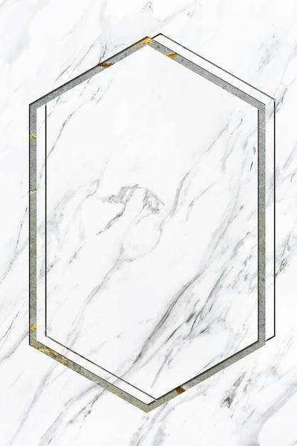 Marmeren frame ontwerpruimte Gratis Foto