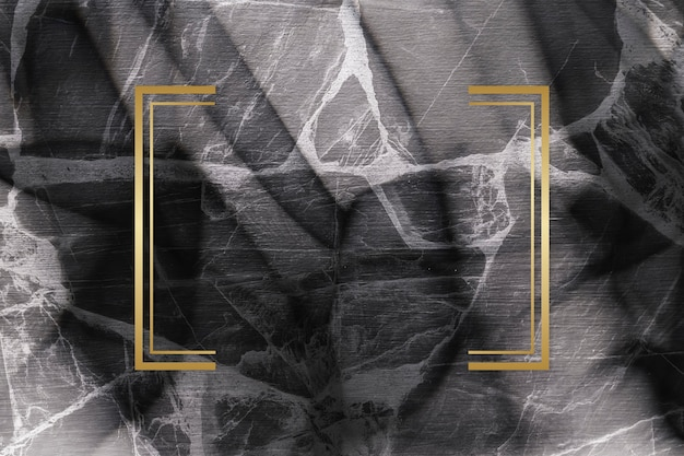 Marmeren gestructureerde achtergrond frame Premium Foto
