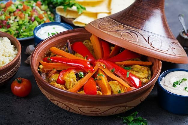 Marokkaans eten Premium Foto