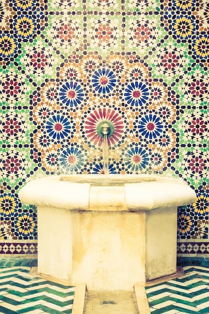 Marrakech interieur arabisch sierlijke islamitisch Foto | Gratis ...