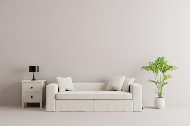 Boom In Woonkamer : Medern woonkamer met meubels en boom. foto premium download
