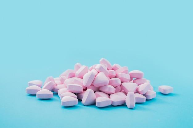Medicijnen in blauw Gratis Foto