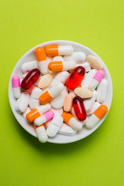 Medische behandeling met pillen Gratis Foto