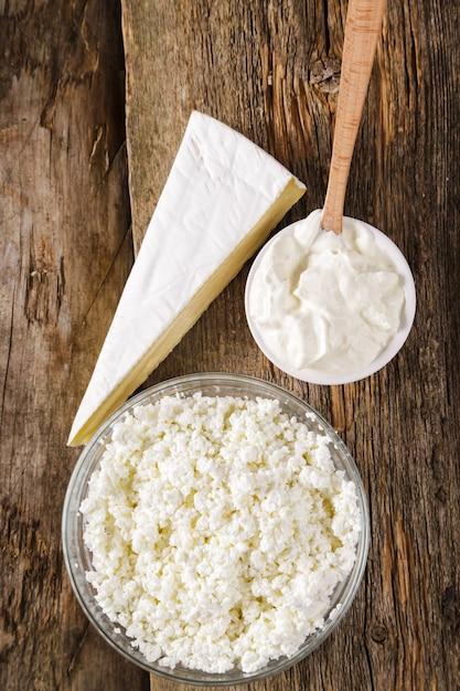 Melkproducten, zuivelproducten, zuivelproducten Gratis Foto