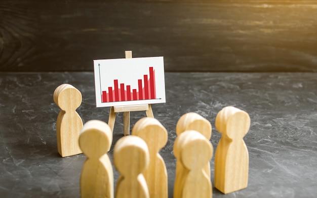 Mensen verzamelden zich voor een vergadering Premium Foto