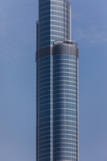 Met het oog op een hoogste toren ter wereld burj khalifa, dubai, verenigde arabische emiraten Gratis Foto