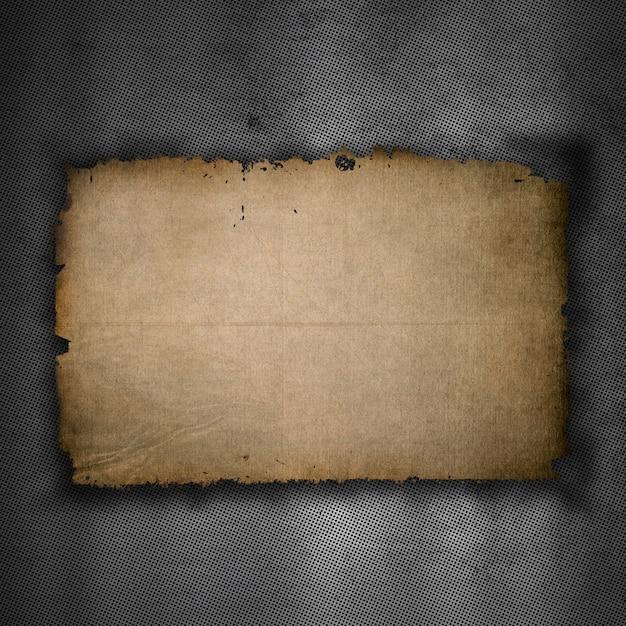 Metaalachtergrond met oude grungedocument textuur Gratis Foto