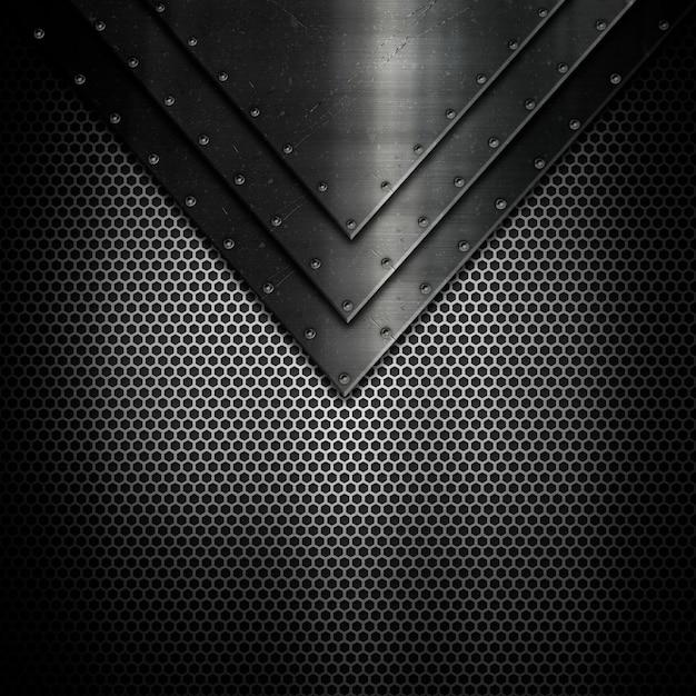 Metalen textuur achtergrond Gratis Foto