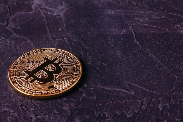 Mijnbouw van crypto-valuta bitcoin blokkeren Premium Foto