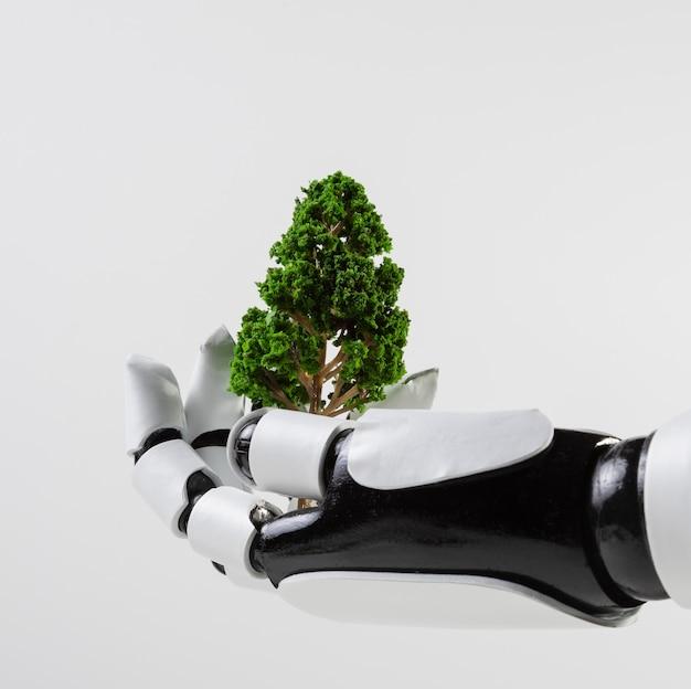 Milieu onderwijs dag concept Gratis Foto