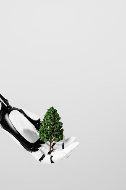 Milieu onderwijs dag concept Premium Foto