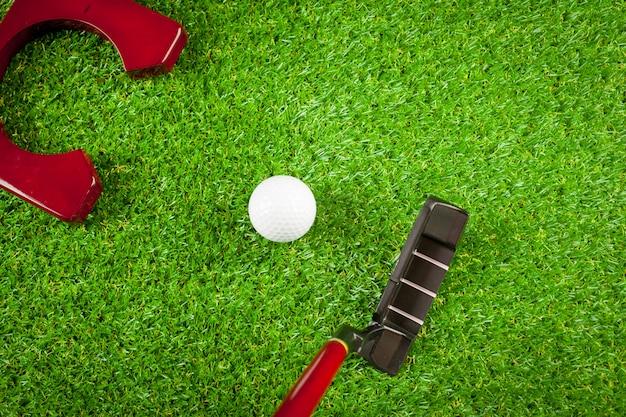 Mini golfuitrusting Premium Foto