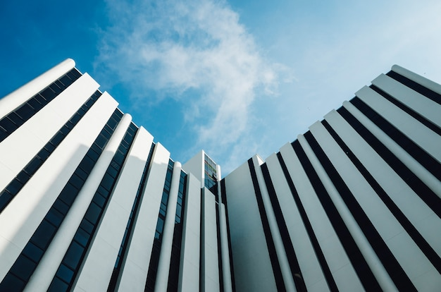 Minimale architectuur gebouw Gratis Foto
