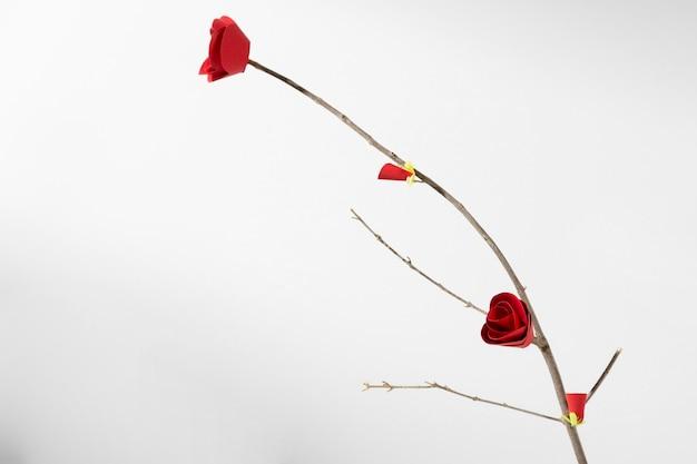 Minimalistisch chinees bloem nieuwjaar 2021 Gratis Foto