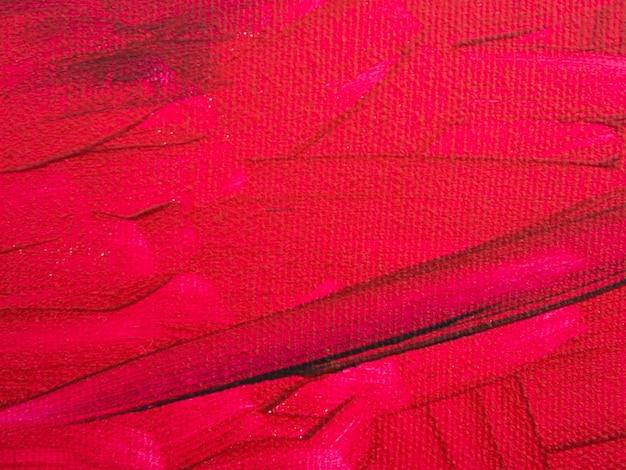Minimalistisch schilderij met rode achtergrond Gratis Foto
