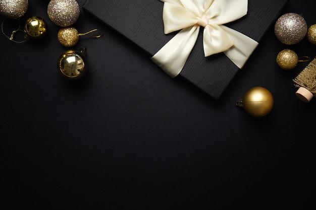 Minimalistische kerst plat Gratis Foto