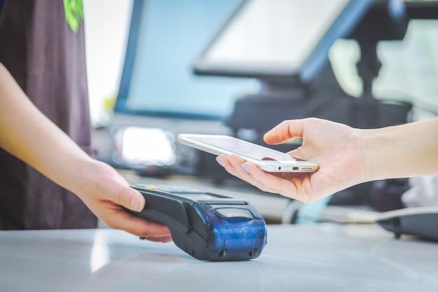 Mobiele betalingen, mobiele scanbetalingen, betalingen van face to face, Gratis Foto
