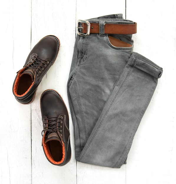 Mode man outfit Premium Foto