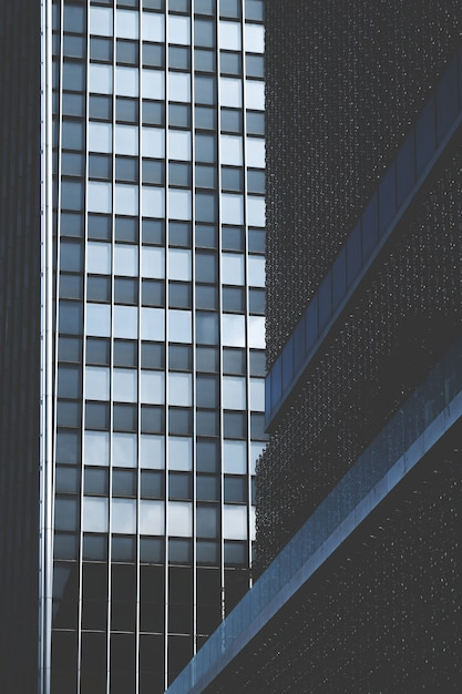 Modern architecturaal kantoorgebouw Gratis Foto