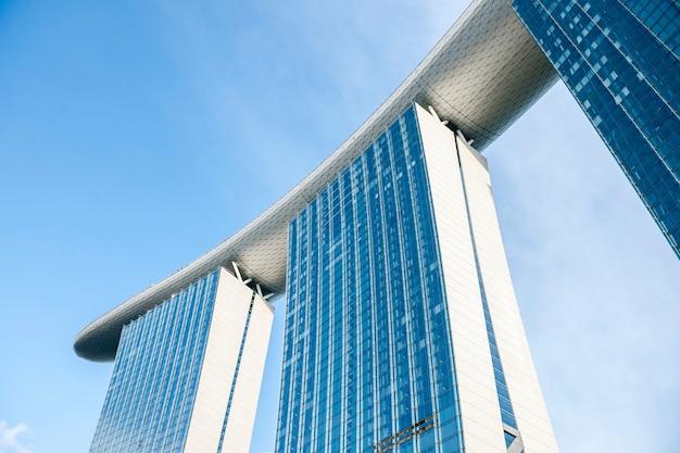Modern gebouw in singapore Gratis Foto