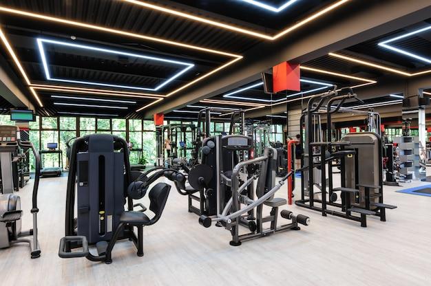 Modern gym interieur Premium Foto