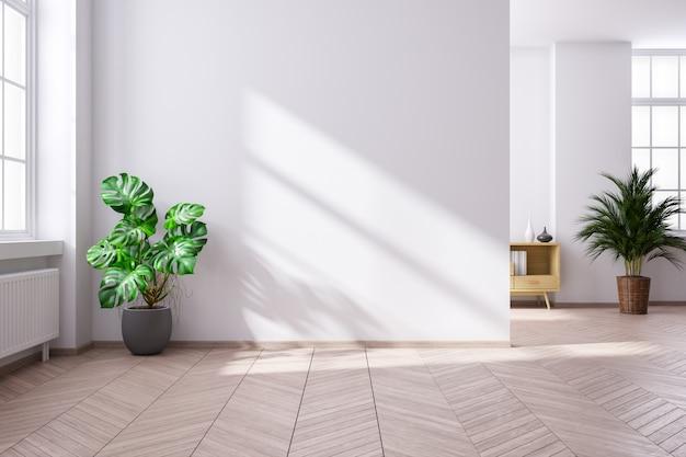 Modern minimalistisch interieur van woonkamer Premium Foto