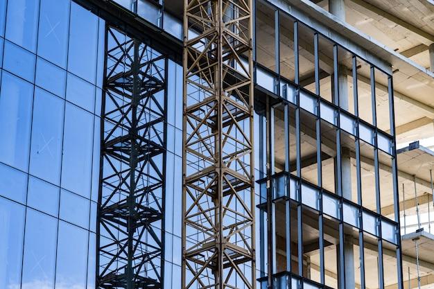 Moderne architectuur bouwconstructie Gratis Foto