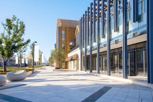 Moderne architectuur in cultural innovation park Premium Foto