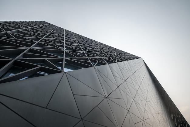 Moderne architectuur van art center in chongqing, china Premium Foto