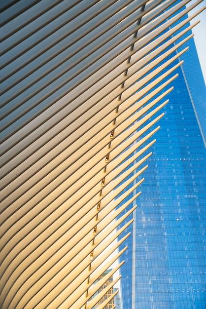 Moderne architectuur van new york city Gratis Foto
