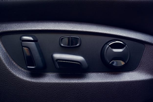 Moderne auto interieur details Premium Foto
