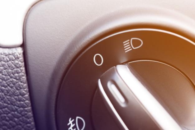Moderne auto-interieur details Premium Foto