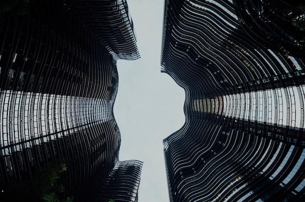 Moderne constructie van gebouwen Gratis Foto