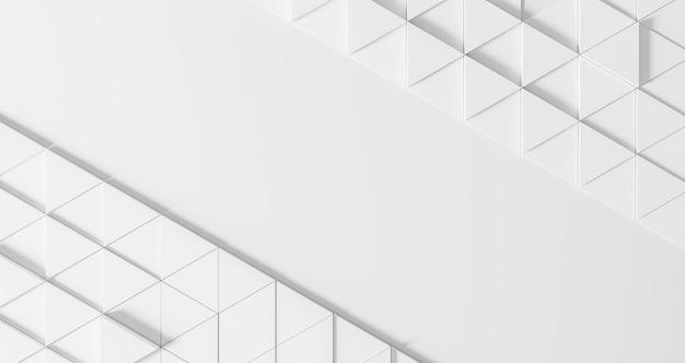 Moderne geometrische achtergrond met witte driehoeken Gratis Foto