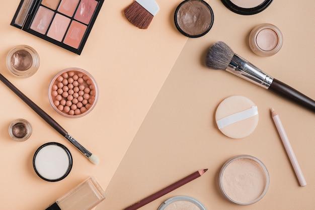 Moderne make-up samenstelling Gratis Foto