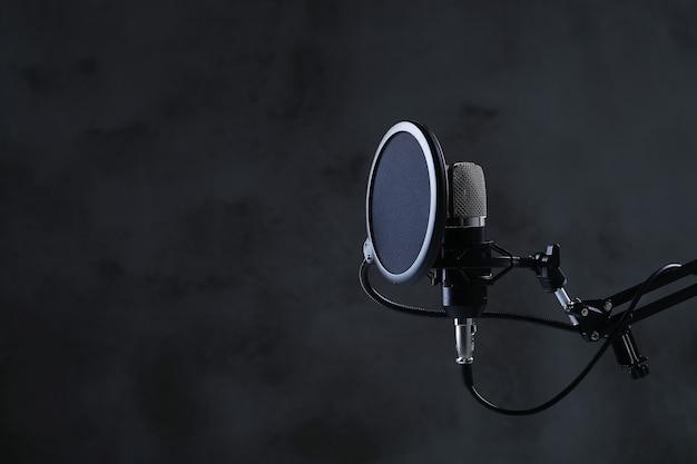 Moderne microfoon Gratis Foto