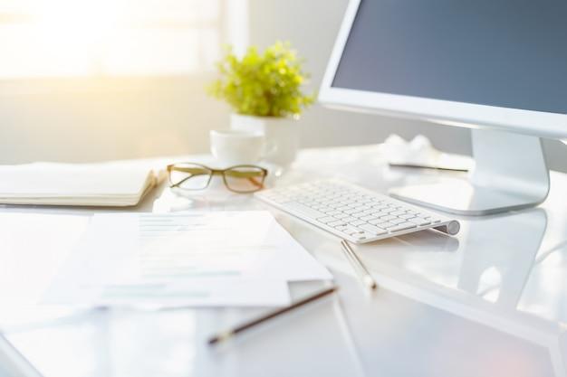 Moderne office desktop Gratis Foto