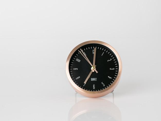 Moderne wekker, tijdbeheer van het bedrijfsconcept Premium Foto