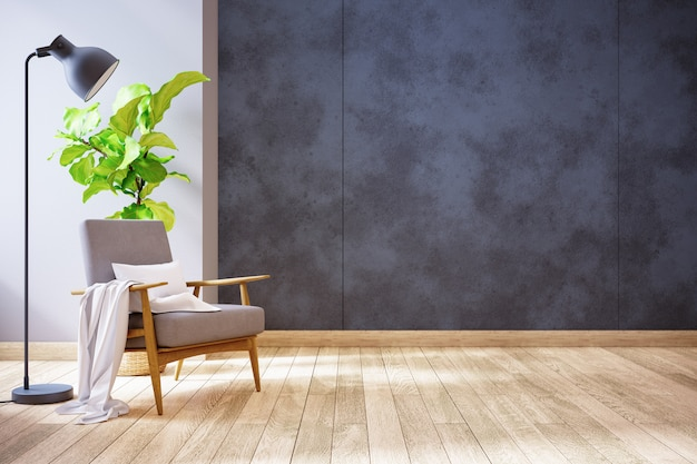 Moderne woonkamer Premium Foto