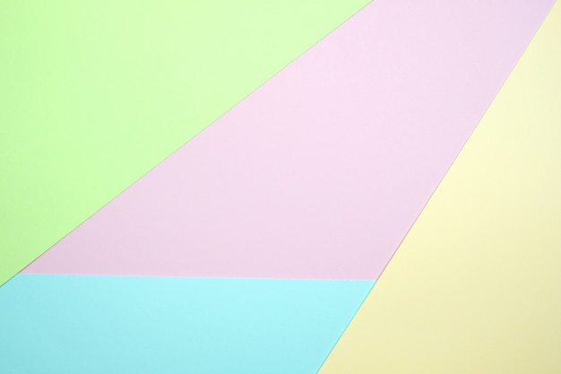 Modieuze pastel gekleurd papier textuur. Premium Foto