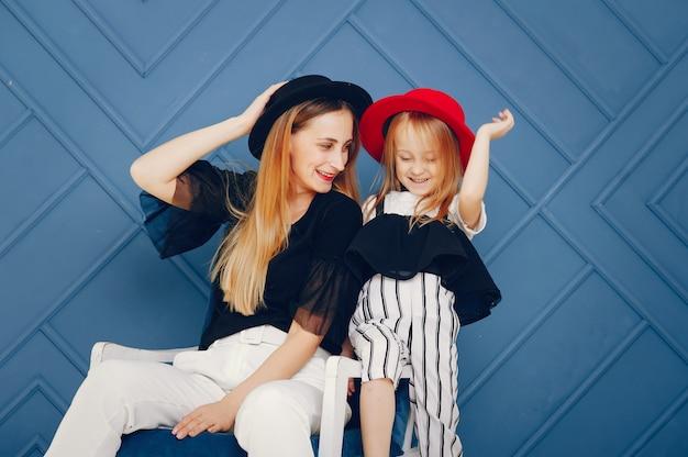 Moeder en dochter Gratis Foto