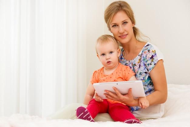 Moeder en haar kind Gratis Foto