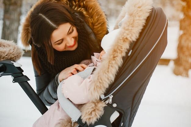 Moeder met dochter Gratis Foto