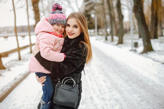 Moeder met dochtertje Gratis Foto