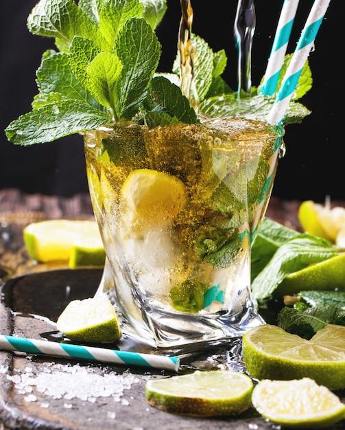 Mojito-cocktail Premium Foto