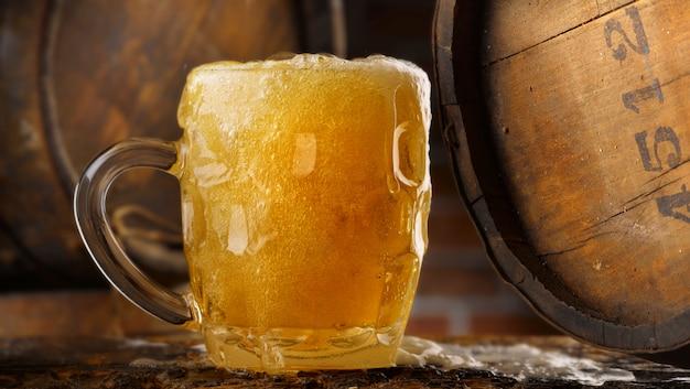 Mok bier Premium Foto