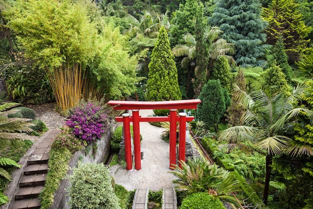 Monte palace tropican garden Premium Foto