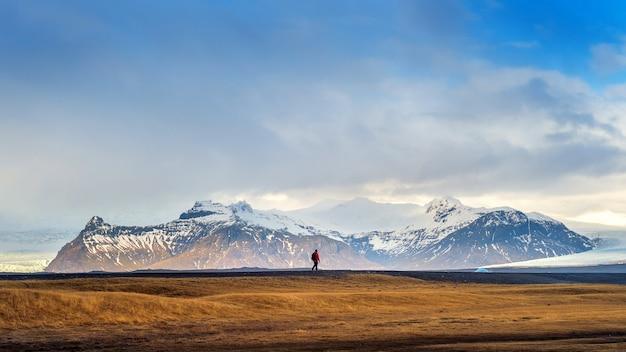 Mooi landschap in ijsland. Gratis Foto