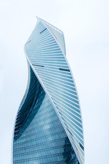 Mooi modern commercieel gebouw Premium Foto